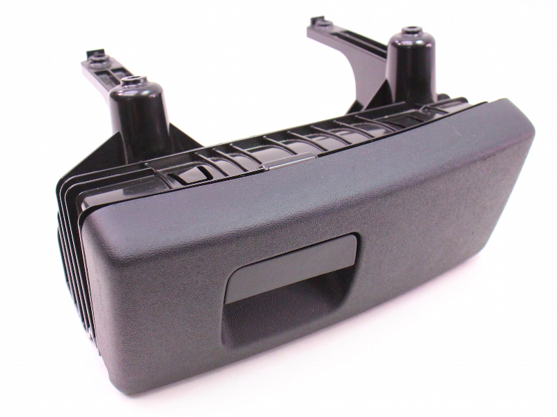 LH Under Seat Storage Cubby Drawer 05-08 Audi A4 B7 Compartment - Black
