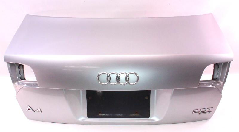 Trunk Deck Lid 05-08 Audi A4 S4 B7 - Genuine - LY7W - Light Silver Metallic