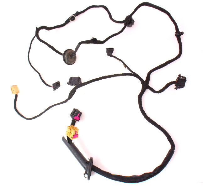 rh front door wiring harness 99 05 jetta golf mk4 manual window Panel Wiring Harness product images