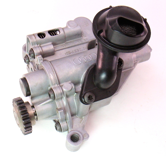 Engine Oil Pump 09-12 Audi A4 B8 A5 Q5 - 2.0T CAEB - Genuine - 06H 115 105 BF