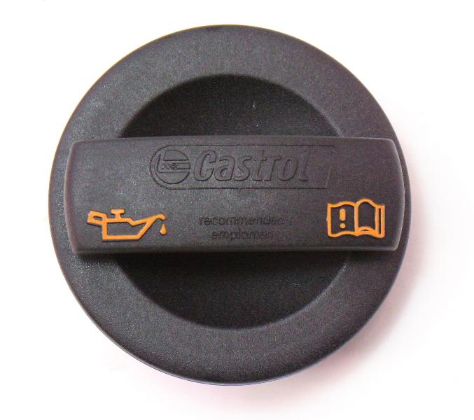 Oil Filler Cap Lid 09-12 Audi A4 B8 A5 Q5 2.0T CAEB - Genuine - 06C 103 485 AD