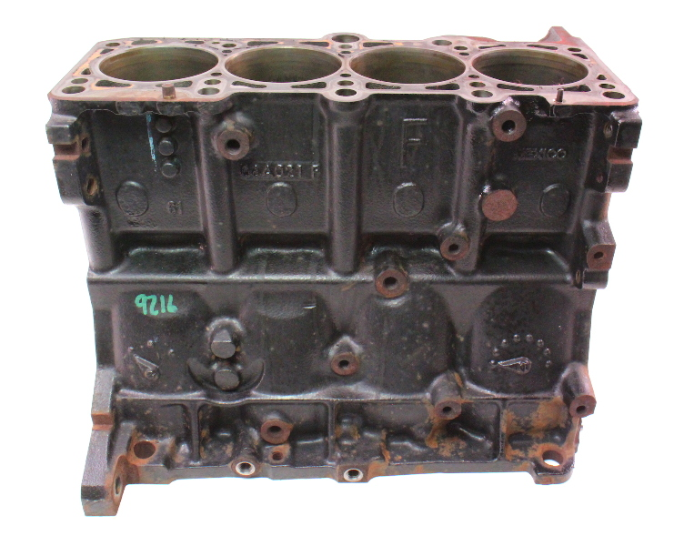 Cylinder Block 11-15 VW Jetta MK6 2.0 Gas CBPA - Genuine - 06A 021 F