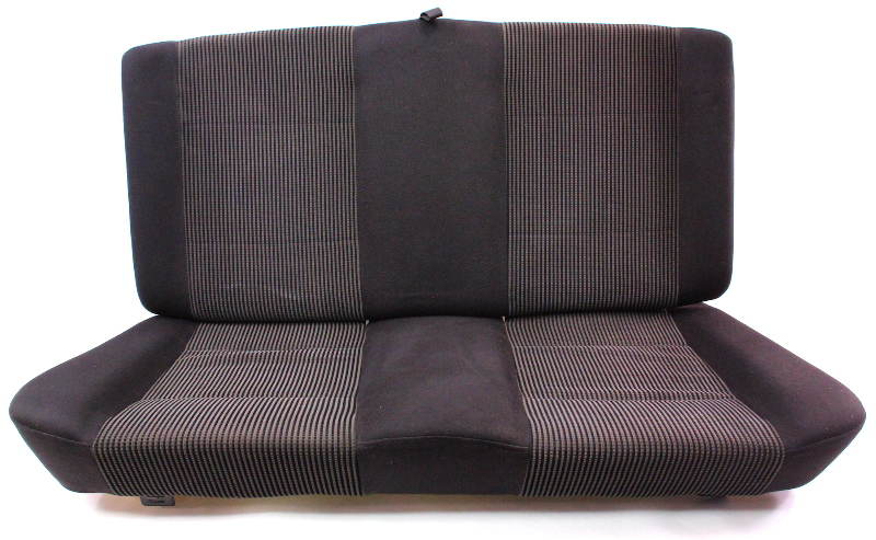 Black Cloth Rear Seat Back Rest Cushion Cover Foam 99-02 VW Cabrio MK3.5 -