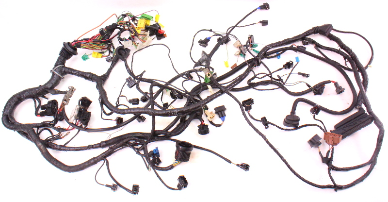 cp043453 20 aba engine swap bay wiring harness obd2 96 99 vw jetta golf gti mk1 mk2 mk3 2 0 aba engine swap bay wiring harness obd2 96 99 vw jetta golf vw mk1 wiring harness at webbmarketing.co
