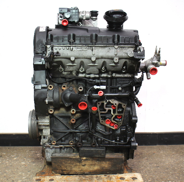 Engine Motor Long Block 04-05 VW Jetta Golf MK4 Beetle Diesel 1.9 TDI BEW 174k