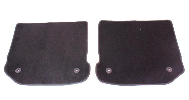 Rear Floor Mat Set 99 05 Vw Jetta Golf Gti Mk4 Black