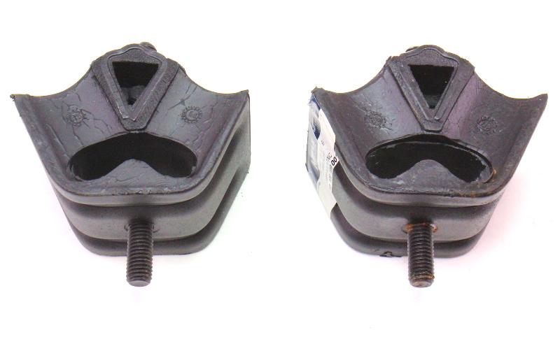 Pair Of Engine Mounts Bushings VW Audi 4000 Fox Dasher - Meyle - 893 199 381 B