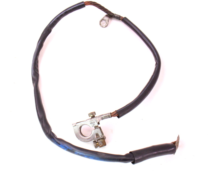 cp044138 negative battery cable terminal wiring harness 81 84 vw jetta rabbit mk1 2 negative battery cable terminal wiring harness 81 84 vw jetta 1982 vw rabbit wiring harness at couponss.co