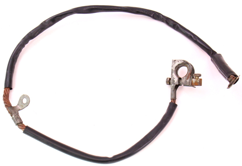 cp044138 negative battery cable terminal wiring harness 81 84 vw jetta rabbit mk1 negative battery cable terminal wiring harness 81 84 vw jetta battery cable wiring harness at readyjetset.co