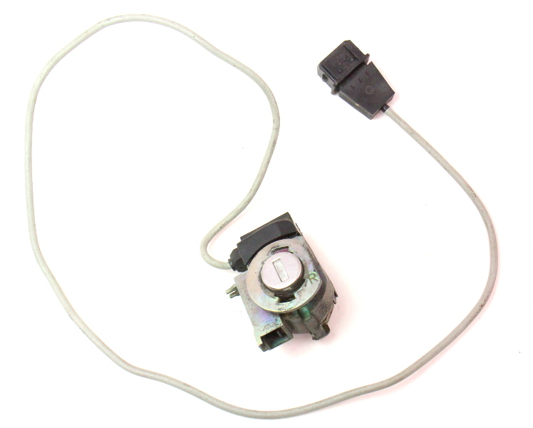 RH Door Lock Assembly 96-99 Audi A4 B5 - Genuine