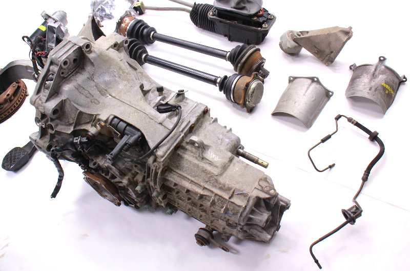 manual transmission swap parts kit 98 05 audi a4 passat b5 v6 dvz ebay rh ebay com audi a4 multitronic to manual conversion 2001 Audi A4 Manual