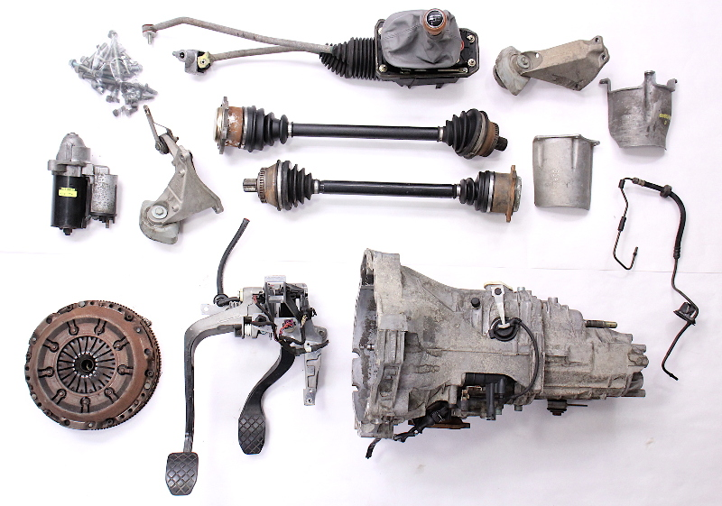 manual transmission swap parts kit 98 05 audi a4 passat b5 v6 dvz ebay rh ebay com audi a4 multitronic to manual conversion audi a4 manual conversion