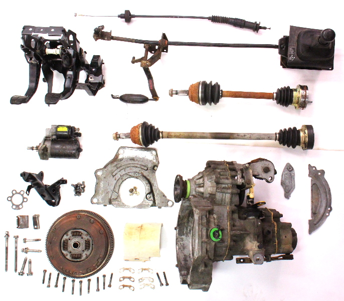 Vw Motor Swap Kits: Manual Transmission Swap Parts Kit VW Jetta GTI Cabrio MK3