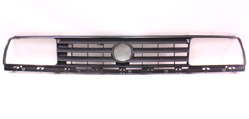 Front Upper Grill Grille 88-92 VW Jetta Golf GTI MK2 - Stock 3 Bar - DTN