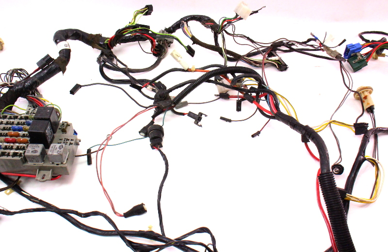 Dash Interior Wiring Harness Fuse Box 81
