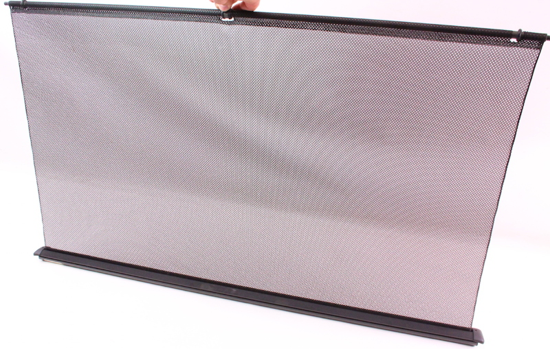 Rear Back Window Sun Shade Screen Visor 98-05 VW Passat B5 Black - 8D5 861 325