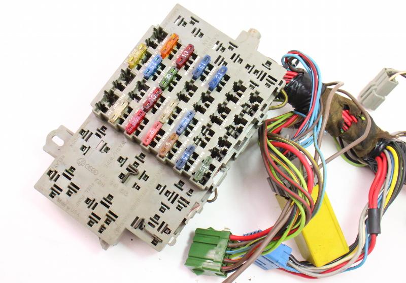 interior tablero arn s de cableado amp caja de fusible 81 84 1984 vw rabbit fuse diagram 84 vw rabbit fuse box power