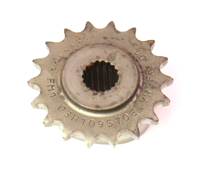 Crank Timing Sprocket 07-08 VW Audi Q7 3.6 VR6 BHK - Genuine - 03H 109 570 E