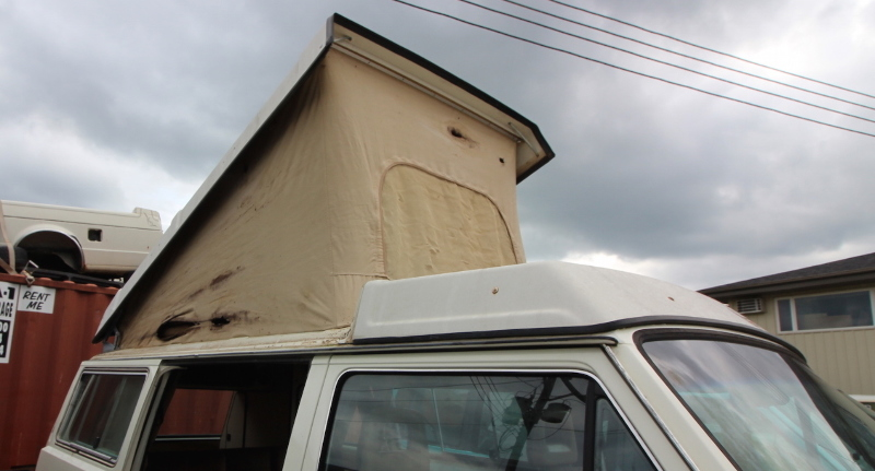 Westfalia Camper Van Pop Top Roof Conversion 80-91 VW Vanagon T3 - Iowa Pickup