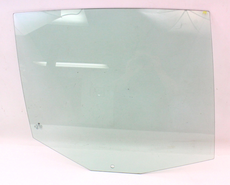 RH Rear Door Window Side Exterior Glass 09-14 VW Jetta Sportwagen MK5 Green Tint
