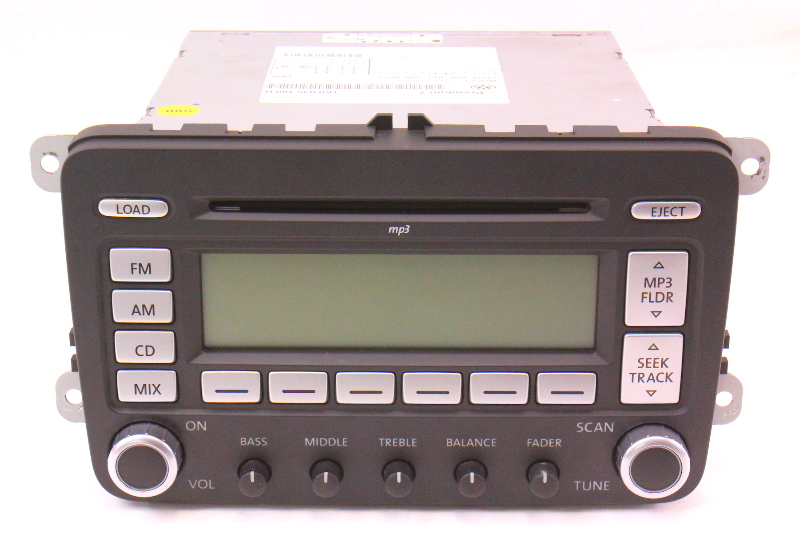Premium 7 Radio CD Player 06-10 VW Jetta Rabbit GTI MK5 Passat B6 1K0 035 180 H