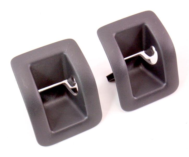 Rear Child Seat Safety Hook Covers 05-10 VW Rabbit GTI Jetta MK5 - 1K0 887 233