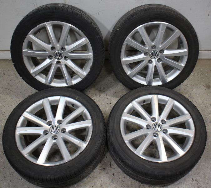 "Set Of Wheels Rims Alloy BBS 17"" 5x112 Audi A4 A6 VW"