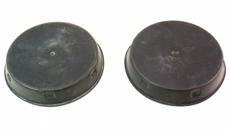 Front Strut Shock Cap Covers 85-92 VW Jetta Golf GTI Mk2 Genuine - 191 412 359 B