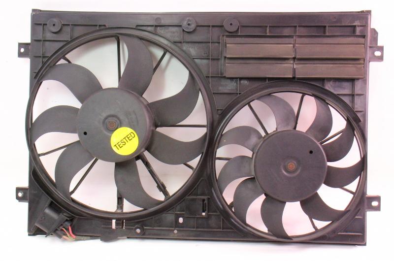 Cooling Fans & Shroud Assembly 06-09 VW Rabbit GTI MK5 Eos - 1K0 121 205 J