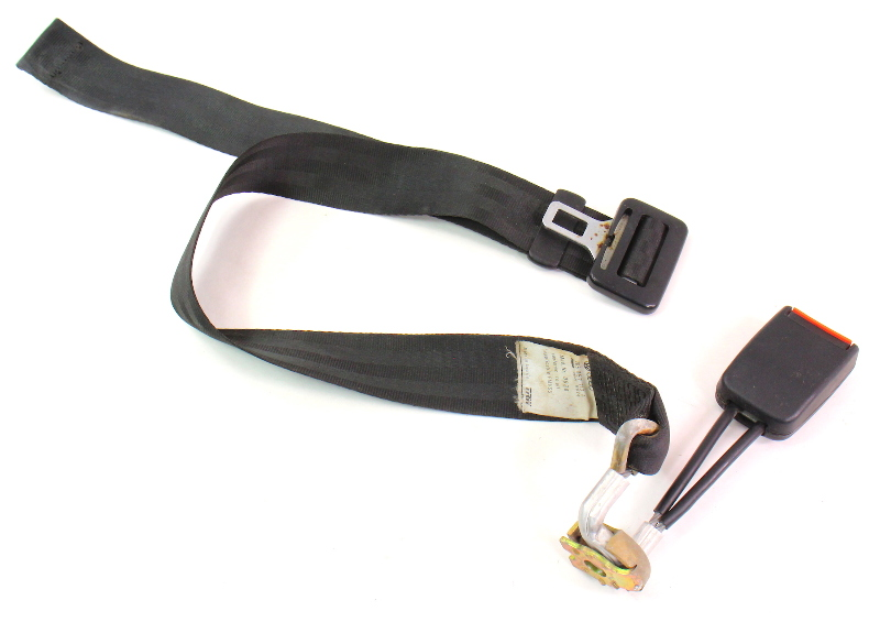 RH Rear Seat Lap Belt SeatBelt  85-92 VW Jetta Golf MK2 - 165 857 713 A