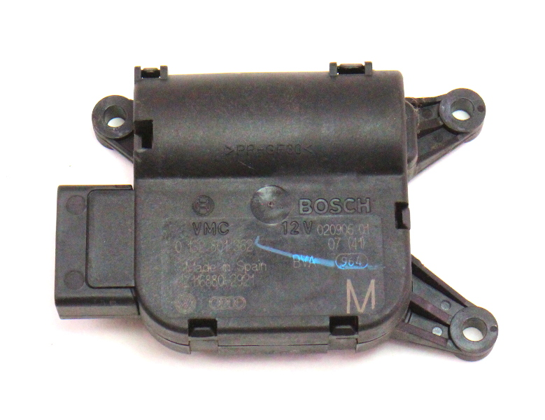 Heater Climate Flap Actuator Motor 06-10 VW Passat B6 Genuine - 0 132 801 362