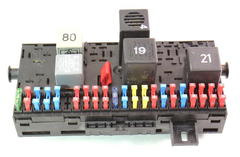caja de fusible fusibles bloque fusebox 85 92 vw jetta. Black Bedroom Furniture Sets. Home Design Ideas
