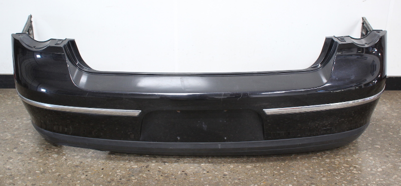 Genuine Rear Bumper Cover 06-10 VW Passat Sedan B6 LC9X Black - 3C5 807 417 D