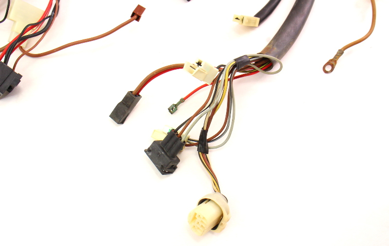 Headlight engine bay wiring harness vw jetta golf