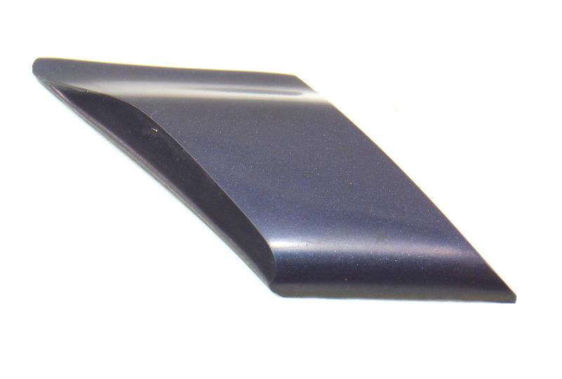 RH Rear Small Quarter Moulding Trim 95-99 Jetta Golf Cabrio GTI MK3 - LG5R Blue