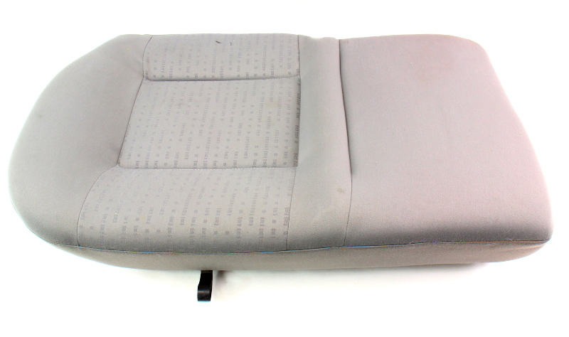 RH Rear Back Seat Cushion & Cover 02-05 VW Jetta Golf MK4 Grey Cloth - Genuine