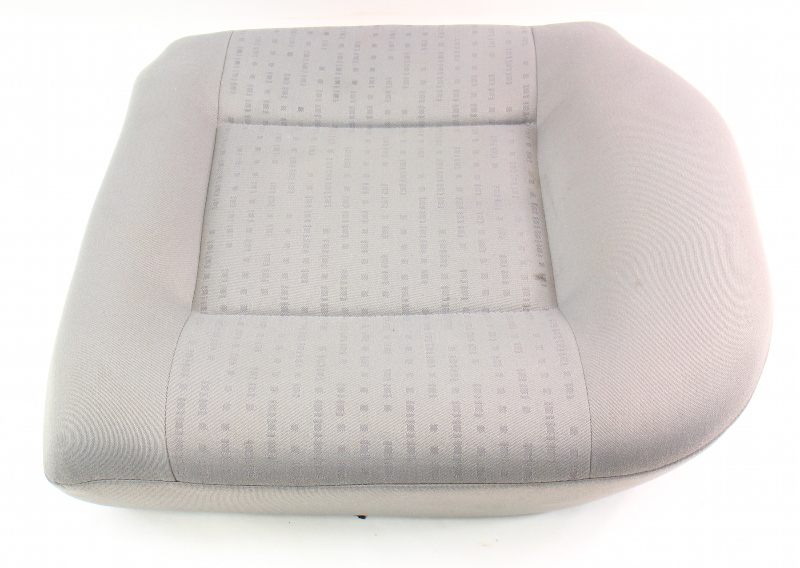 LH Rear Back Seat Cushion & Cover 02-05 VW Jetta Golf MK4 Grey Cloth - Genuine