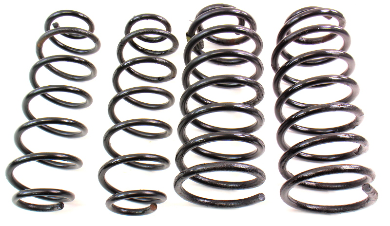 Coil Spring Suspension Set 00-05 VW Beetle Golf MK4 ~ Genuine Stock ~