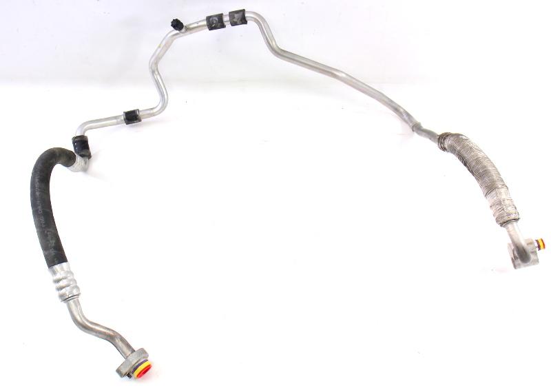 AC A/C Line Hose Jetta GTI MK5 Audi A3 8P BPY 2.0T - Genuine - 1K0 820 743 BJ