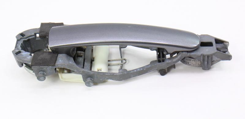 RH Exterior Door Handle 06-09 VW Rabbit Golf GTI MK5 LA7T United Gray - Genuine