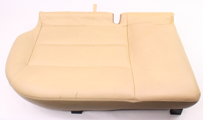 RH Rear Lower Seat Cushion & Cover 01-05 VW Passat Wagon B5.5 Beige Leather