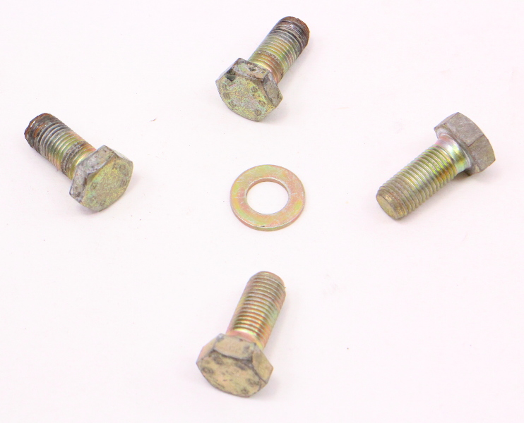 Rear Seat Belt Seatbelt Hardware Bolts 80-91 VW Vanagon T3 ~ Syncro Westfalia