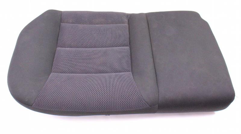 RH Rear Back Seat Cushion & Cover 04-05 VW Jetta Golf MK4 Dark Grey Cloth