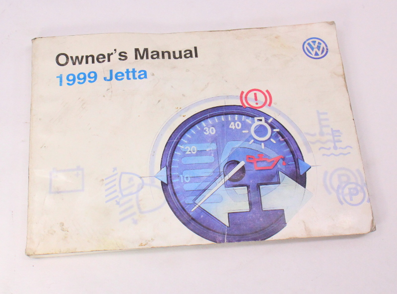 1999 VW Jetta Owners Manual Books & Case 93-99 VW Volkswagen Mk3 - Genuine