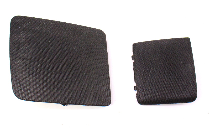 Dash Speaker Grilles Covers Set Pair 93-99 VW Jetta Golf Cabrio MK3 - Black