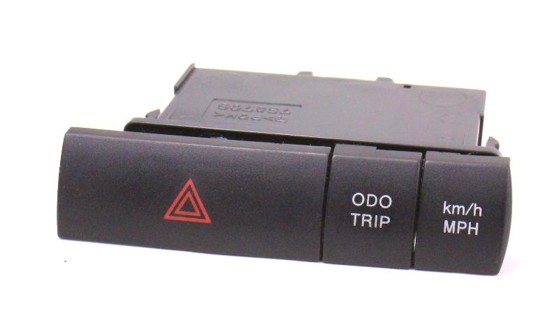 Dash Hazard ODO Trip Km/h MPH Switch Button 06-09 Toyota Prius Genuine - 758706