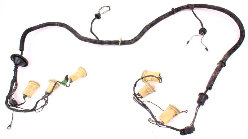 complete tail light lamp bulb wiring harness 80 83 vw rabbit pickup rh ebay com 2008 vw rabbit wiring harness vw rabbit wiring harness