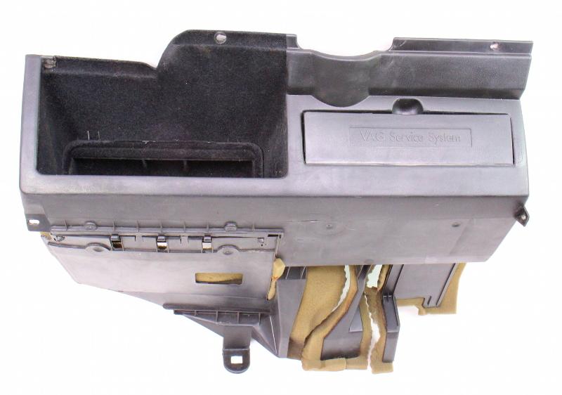 Black Lower Dash Panel / Pocket 85-92 VW Jetta Golf MK2  Genuine - 191 857 921 C