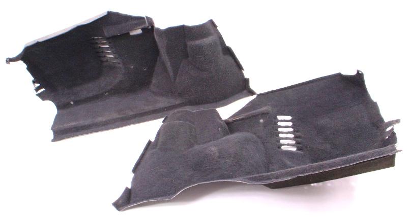 Trunk Side Carpet Panels 85-92 VW Jetta MK2 - Genuine