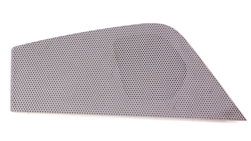 RH Front Speaker Grill Cover 06-10 VW Passat B6 - Grey - 3C1 868 158 B